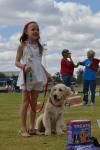 A handler like her dog