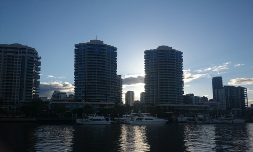 Brisbane from the river - there's real money here!