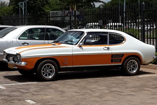 A Ford Capri still looking good after some 40 years!